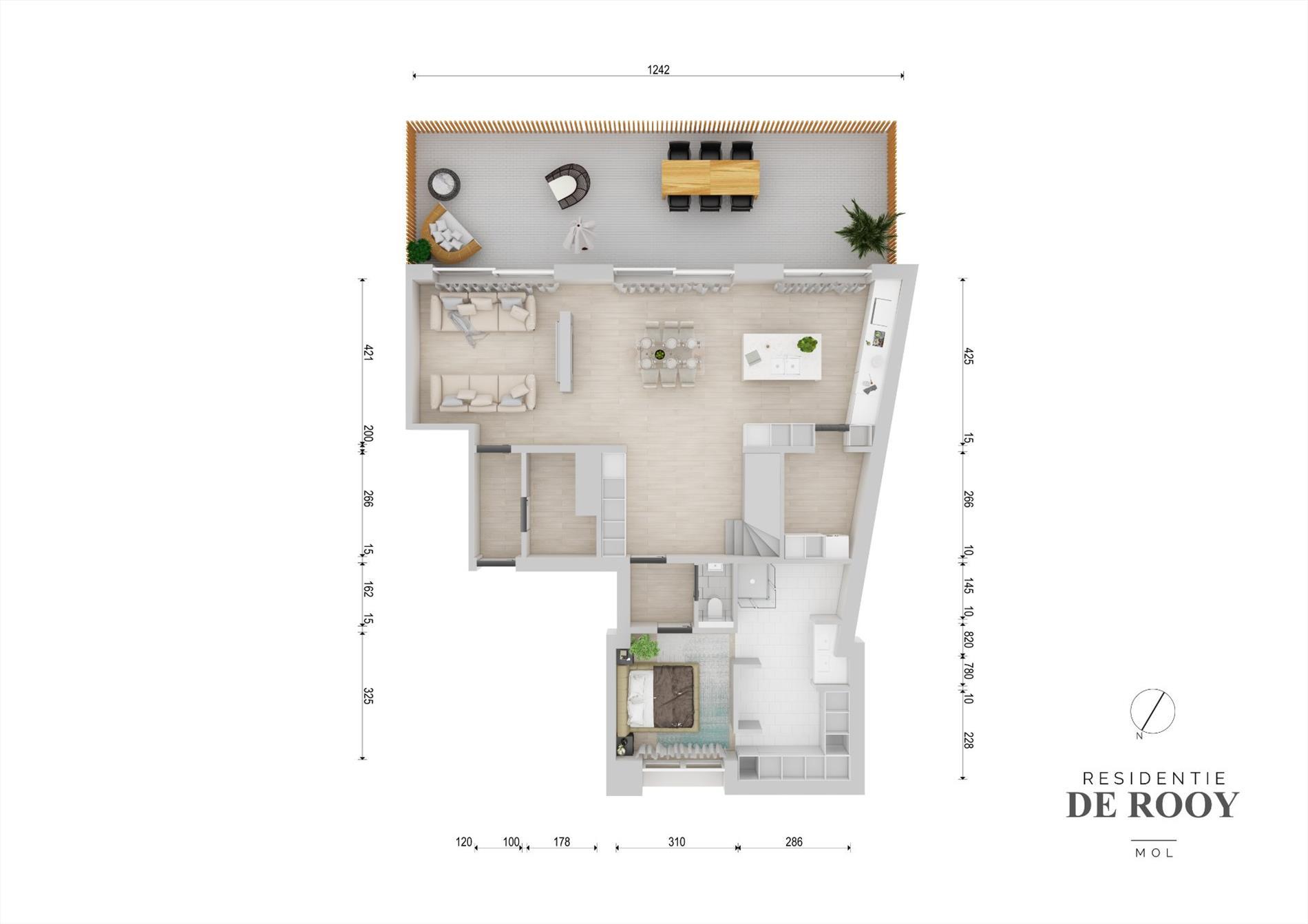 Appartement te Mol