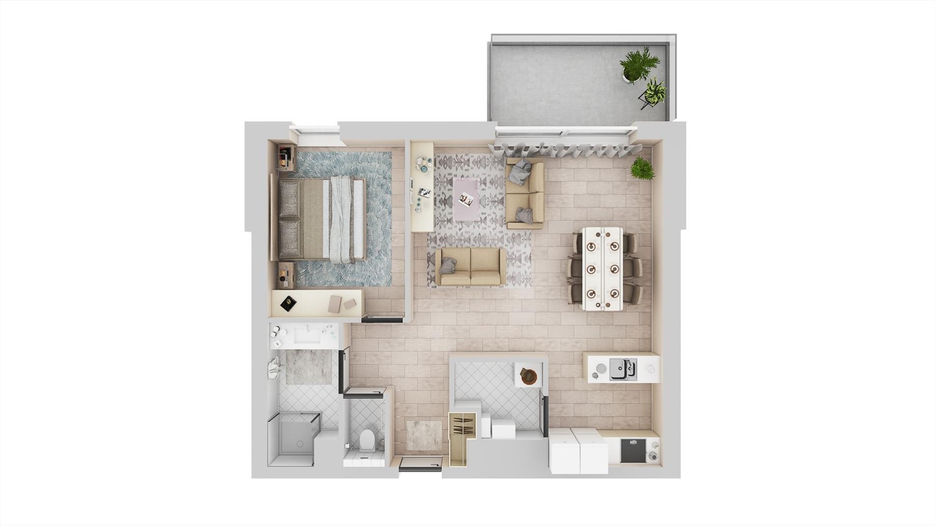 Appartement te Deurne