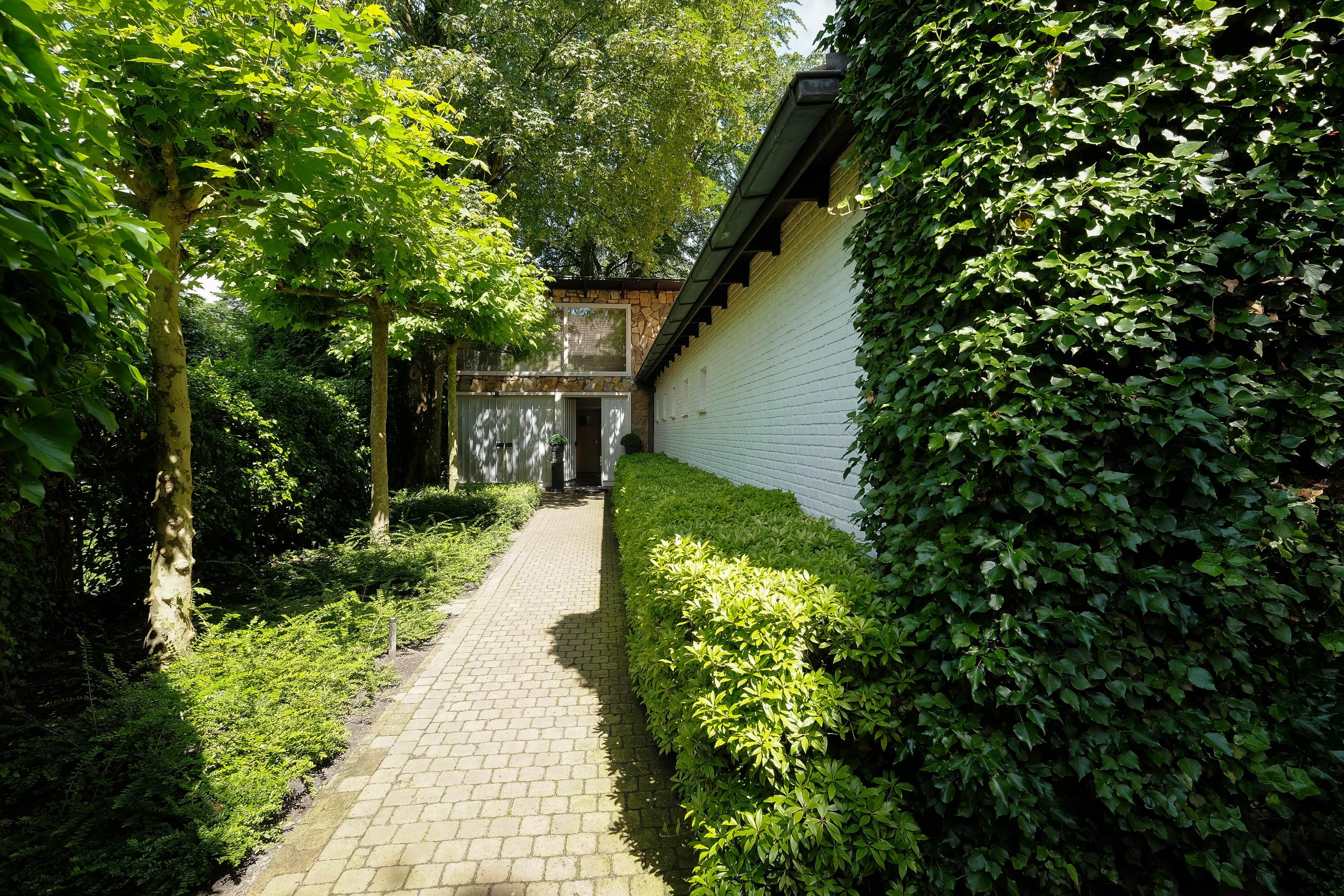Villa van architect Eugène Wauters op een uniek perceel van ca. 1.000 m²