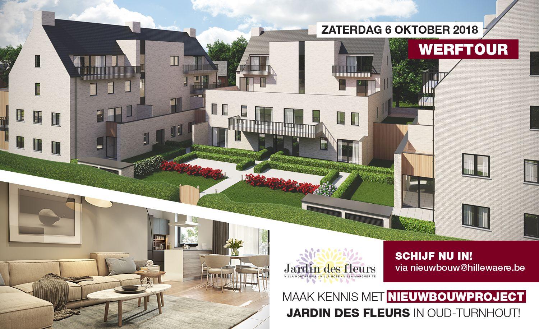 Werftour in Jardin Des Fleurs (Oud-Turnhout) op zaterdag 6 oktober