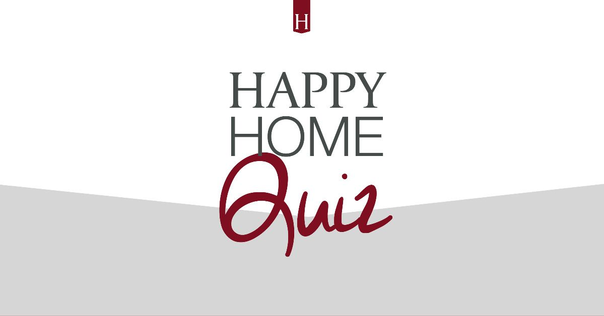 Hillewaere Happy Home Quiz