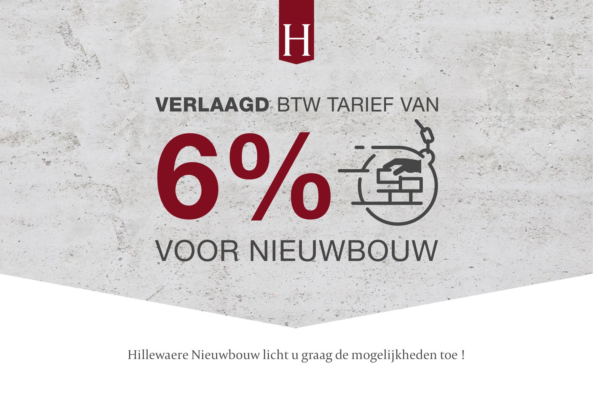 Van 21% naar 6% BTW voor nieuwbouw. Hoe zit dat net?