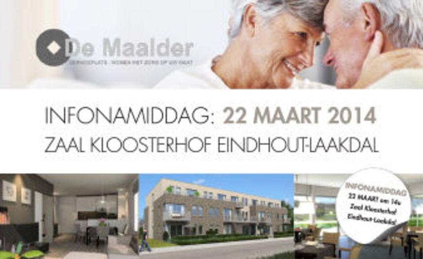 De Maalder - INFONAMIDDAG op 22 maart 2014 om 14u