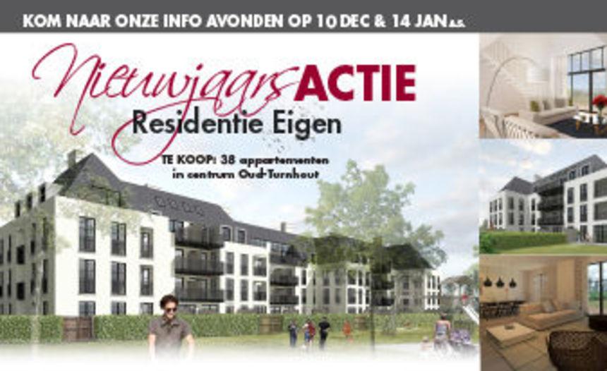 Nieuwjaarsactie voor Project Eigen te Oud-Turnhout
