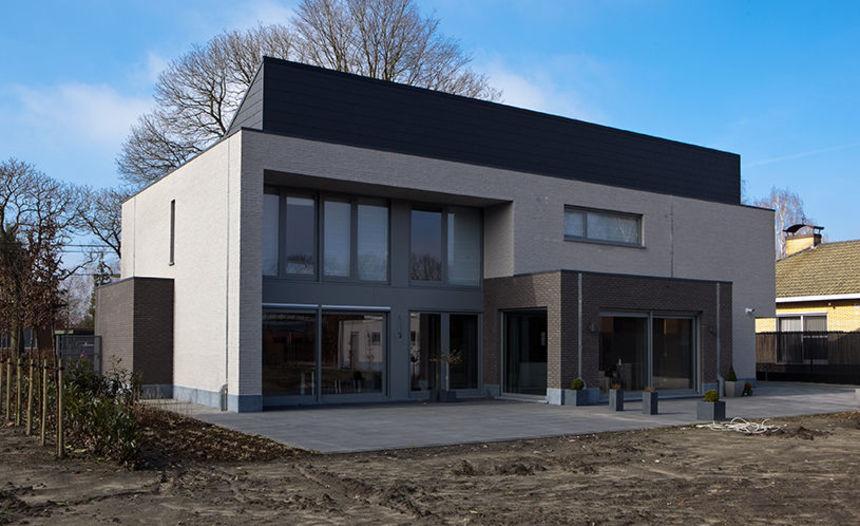 Binnenkijken bij een moderne villa te Oud-Turnhout