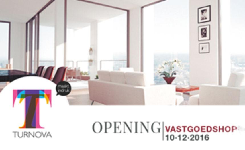 Opening Turnova Vastgoedshop