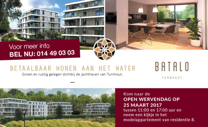 25/03:Open Wervendag bij Batalo Turnhout
