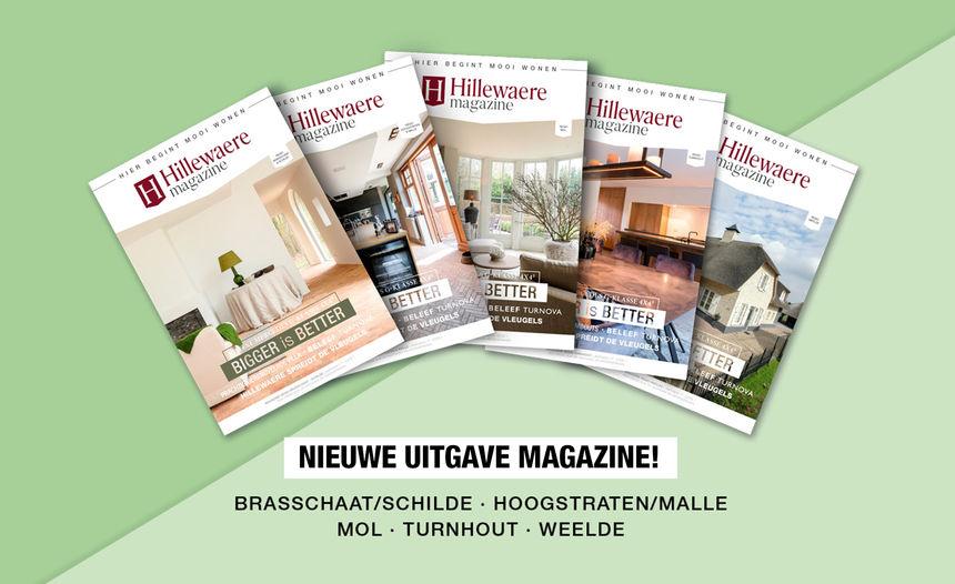 Nieuw Hillewaere Magazine!