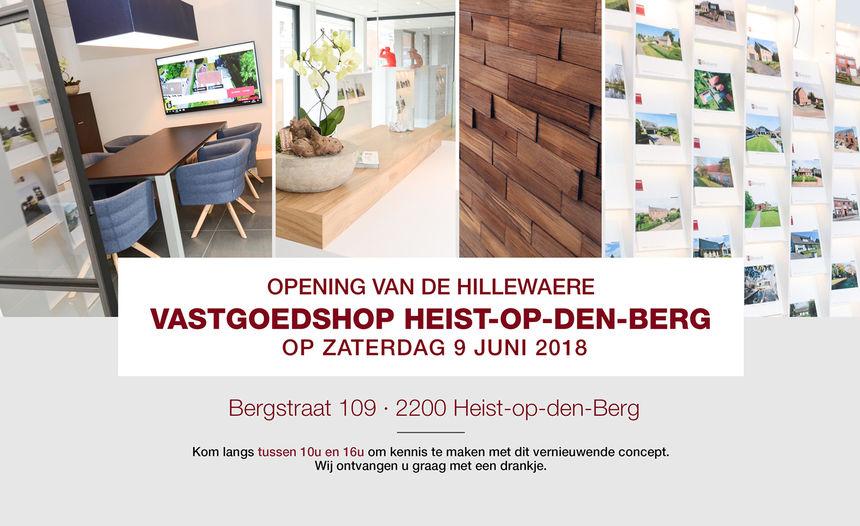 Officiële opening Vastgoedshop Heist-op-den-Berg