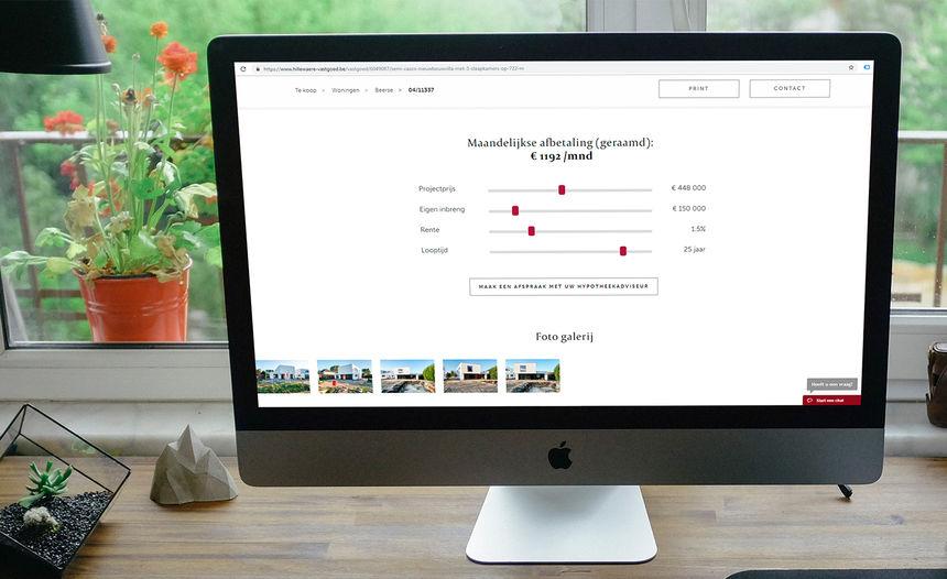 Nieuwe feature : Hypotheektool