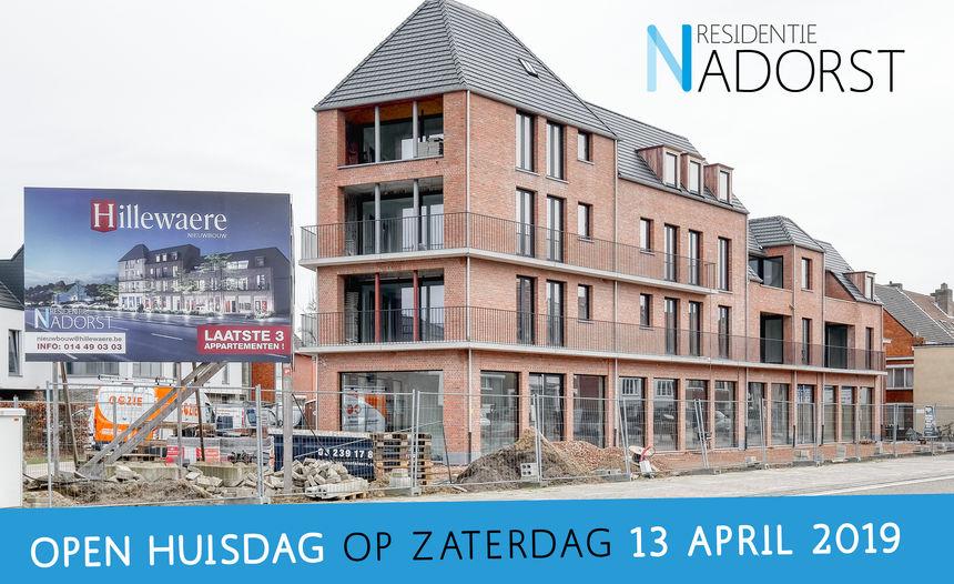 Openhuizendag Residentie Nadorst Oud-Turnhout op 13 april