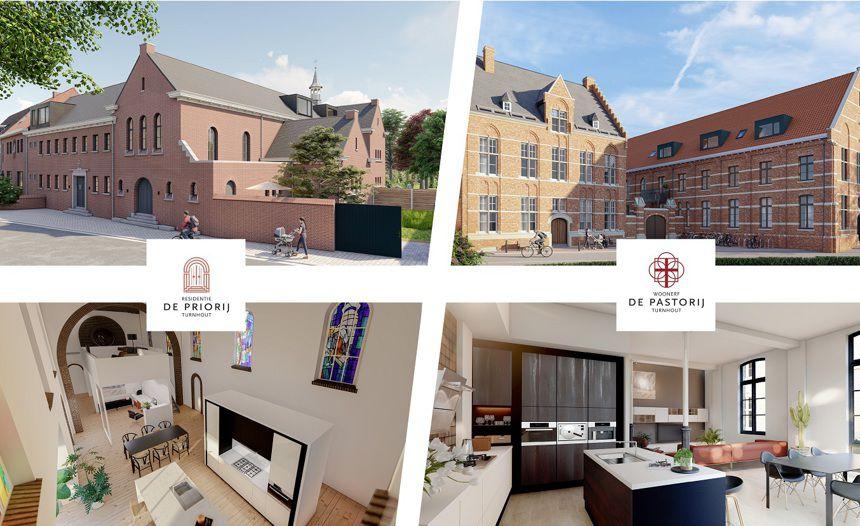 De Priorij en De Pastorij: 2 exclusieve en unieke projecten in hartje Turnhout