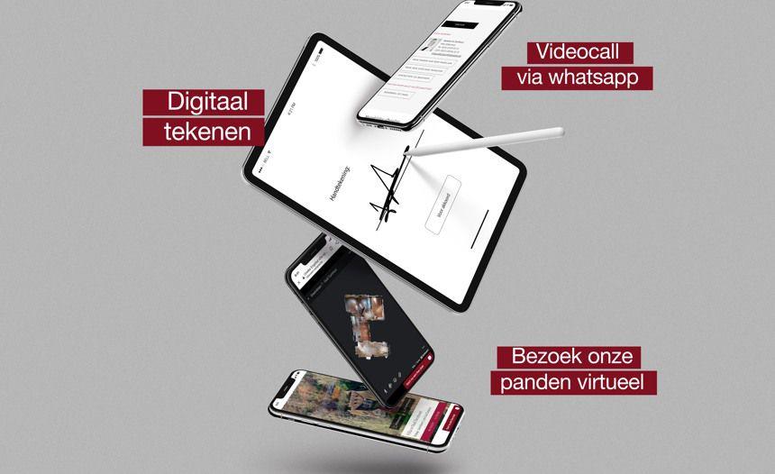 Hillewaere Vastgoed: digitaal tot uw dienst