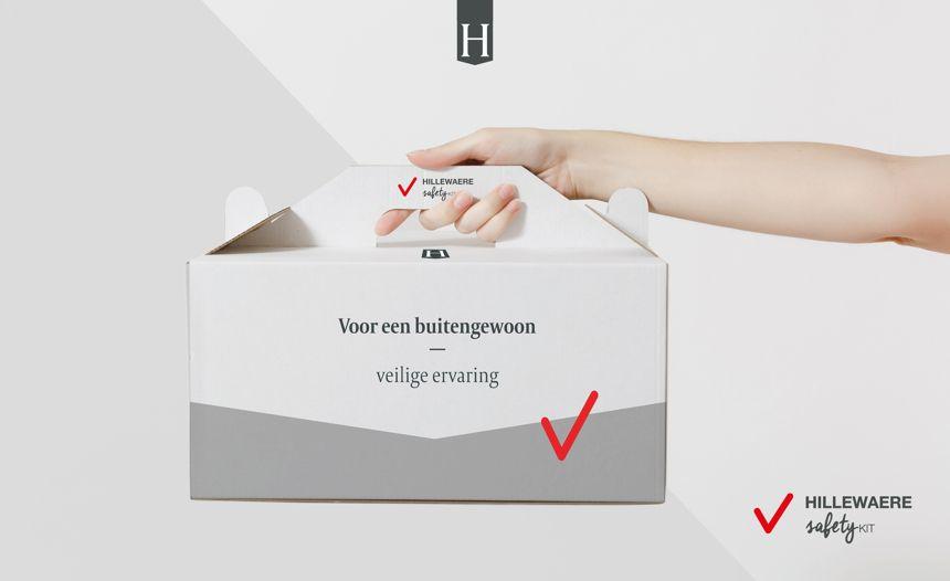 Hillewaere werkt maximaal digitaal inclusief Hillewaere Safety Kit voor alle klanten