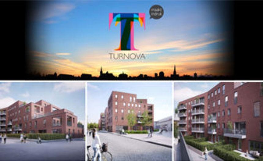 Start verkoop appartementen Turnova