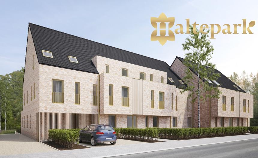 Residentie Haltepark: 11 ruime BEN-appartementen met parktuin in Begijnendijk