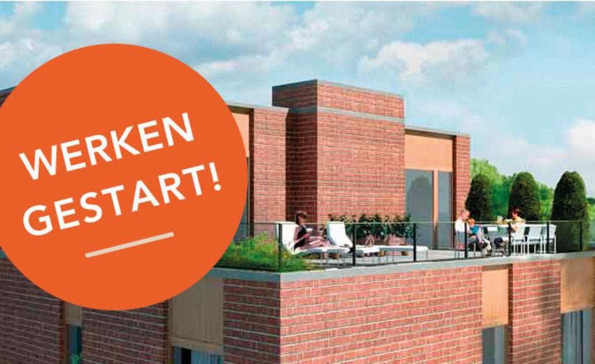 Werken aan appartementen gestart!